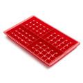 Lékué 2 Piece Waffle Mould Maker Red