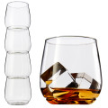 Tossware Shatterproof Stackable Scotch Glasses 320ml BPA-Free Upscale REUSABLE/Recyclable Set of 4