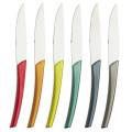 Degrenne Paris Quartz Multicolor 6 Piece Steak Knives Set
